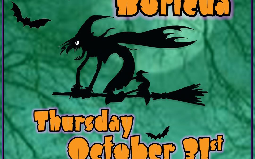 THURSDAY OCT. 31 | 18th ANNUAL HAUNTED PASEO BORICUA SAVE THE DATE!